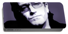 Bono Portrait Portable Battery Charger by Dan Sproul