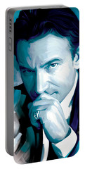 Bono U2 Artwork 4 Portable Battery Charger by Sheraz A