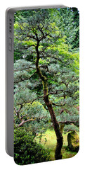 Bonsai Tree Portable Battery Charger by Athena Mckinzie