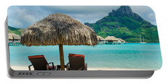 Bora Bora Beach Portable Battery Charger