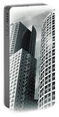 Boston Architecture Portable Battery Charger by Fred Larson