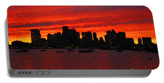 Boston City Sunset Portable Battery Charger