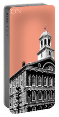 Boston Faneuil Hall - Salmon Portable Battery Charger