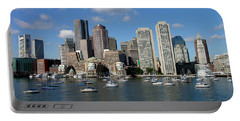 Boston Habor Skyline Portable Battery Charger
