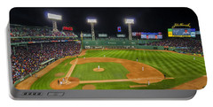 Boston Red Sox And New York Yankees At Fenway Park - Art Portable Battery Charger
