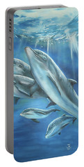 Bottlenose Dolphins Portable Battery Charger