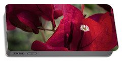 Portable Battery Charger featuring the photograph Bougainvillea by Steven Sparks