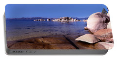 Boulders At The Coast, Lake Tahoe Portable Battery Charger