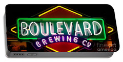 Boulevard Brewing Portable Battery Charger by Kelly Awad