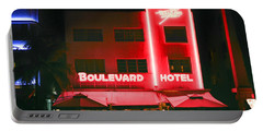 Boulevard Hotel Portable Battery Charger