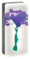 Portable Battery Charger featuring the painting Bouquet Abstract 1 by Frank Bright