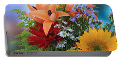 Portable Battery Charger featuring the photograph Bouquet Of Flowers by Geraldine DeBoer