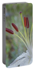 Bouquet On Bokeh Portable Battery Charger by Jean-Pierre Ducondi