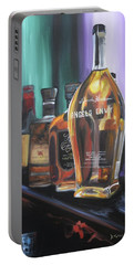Bourbon Bar Oil Painting Portable Battery Charger