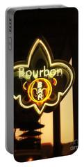 Bourbon Street Bar New Orleans Portable Battery Charger