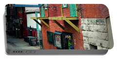 Bourbon Street Blues Portable Battery Charger by Linda Unger