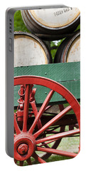 Bourbon Wagon Portable Battery Charger by Alexey Stiop