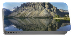 Bow Lake And Crowfoot Mts Banff Portable Battery Charger