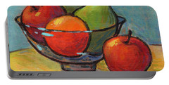 Bowl Of Fruit Portable Battery Charger