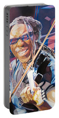 Boyd Tinsley And 2007 Lights Portable Battery Charger by Joshua Morton