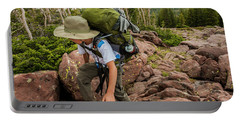 Boys Backpack Through The High Uintas Portable Battery Charger