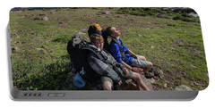 Boys Hike  Below Kings Peak Portable Battery Charger