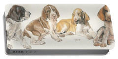 Bracco Italiano Puppies Portable Battery Charger