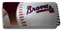 Braves Baseball Portable Battery Charger
