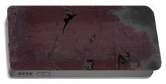 Portable Battery Charger featuring the digital art Breaking Bad Concrete Wall by Brian Reaves