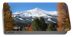 Breckenridge Colorado Portable Battery Charger by Fiona Kennard