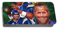 Bret Favre Portable Battery Charger