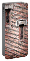 Brick Work Portable Battery Charger by Melanie Lankford Photography