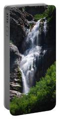 #bridalveilfalls Portable Battery Charger by Becky Furgason