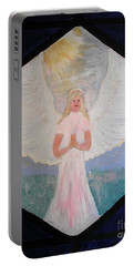 Angel In Prayer  Portable Battery Charger