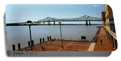 Bridge Across A River, Crescent City Portable Battery Charger