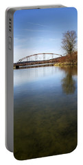 Portable Battery Charger featuring the photograph Bridge At Upper Lisle by Christina Rollo
