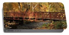 Bridge On Big Chico Creek Portable Battery Charger