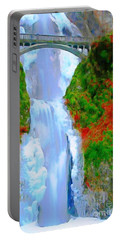 Bridge Over Beautiful Water Portable Battery Charger