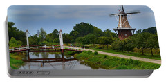 Bridge To Holland Windmill Portable Battery Charger