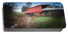 Bridges Of Madison County Portable Battery Charger by Randall Branham
