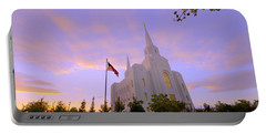 Brigham City Temple I Portable Battery Charger
