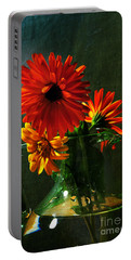 Bright And Dominant Portable Battery Charger by Randi Grace Nilsberg