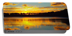 Portable Battery Charger featuring the photograph Brilliant Sunrise by Dianne Cowen