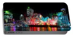 Brisbane City Of Lights Portable Battery Charger