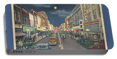 Bristol At Night In The 1940's Portable Battery Charger