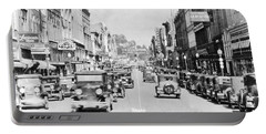 Bristol Virginia Tennessee State Street 1931 Portable Battery Charger