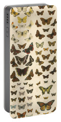 British Butterflies Portable Battery Charger