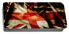 British Flag  Portable Battery Charger by Les Cunliffe
