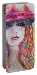 Britney Spears Portable Battery Charger by Chrisann Ellis