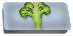 Broccoli Portable Battery Charger by Tom Gowanlock
